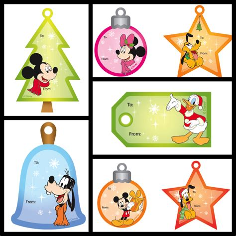 disney holiday gift tags my disney find disney gift tags