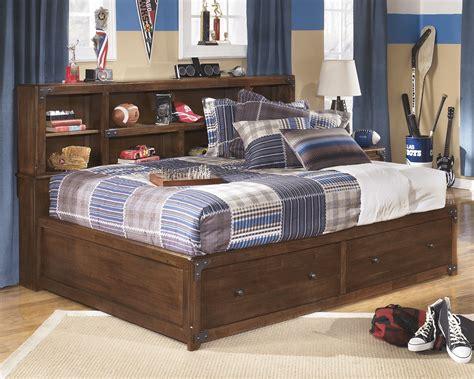 delburne full bookcase bed ashley furniture delburne full bookcase storage bed the