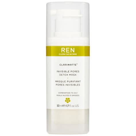 Pore Detox Means What by Ren Pore Minimising Detox Mask 50ml Free Delivery