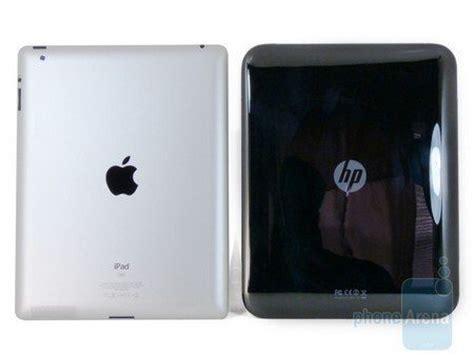Hp Tablet Apple apple 2 hp touchpad comparison battle phonesreviews uk mobiles apps networks