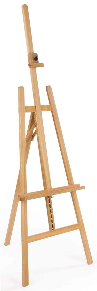 simply art natural wood easel this art easel is capable of showcasing picture frames at