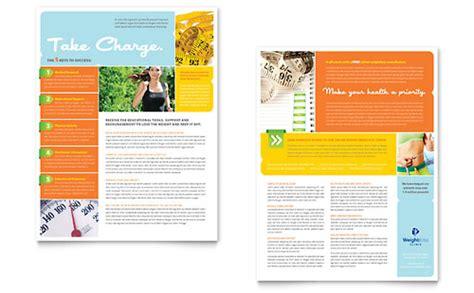 health newsletter templates free nutrition newsletter flashissue flashissue