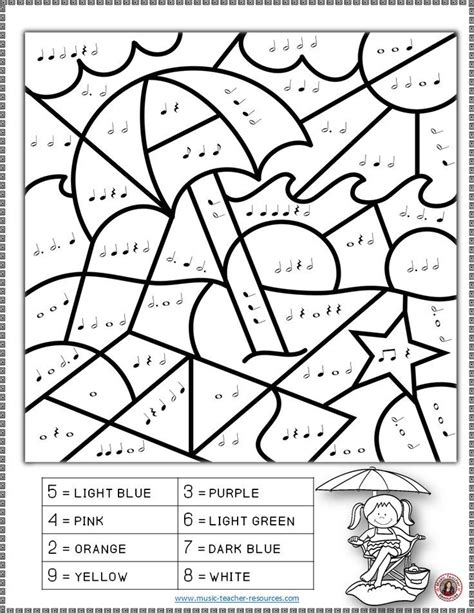 music dynamics coloring pages music notes and kitty coloring book sheet music note