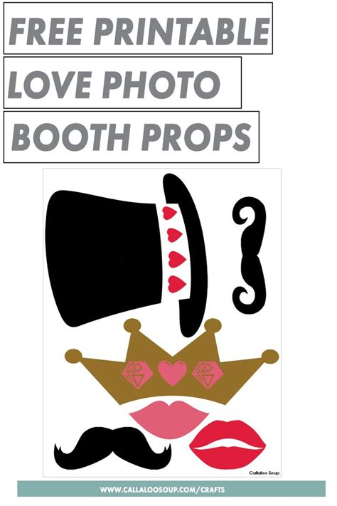 printable photo booth props love 50 best images about crafty creative stuff from callaloo