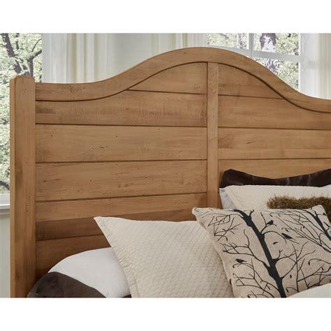 solid wood headboard king vaughan bassett american maple solid wood king shiplap