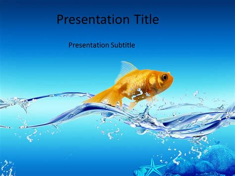 fish powerpoint template fish powerpoint template fish powerpoint background