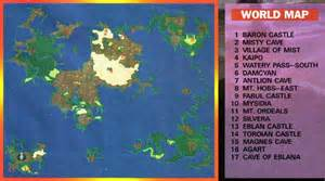 Ff2 World Map by Let S Play Final Fantasy Ii Part One 171 Scibbe Com