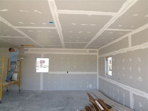 Cost To Install Sheetrock Ceiling by How To Install Drywall