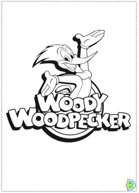 woody woodpecker coloring page dinokids org