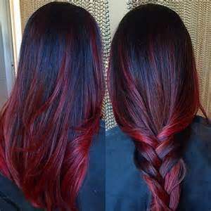 hair color black 50 50 stunning dark red hair color ideas bright yet elegant