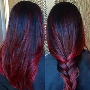 merlot hair color merlot highlights brown hairs