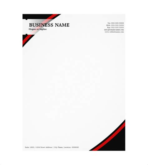 business name letterhead 10 construction company letterhead templates free