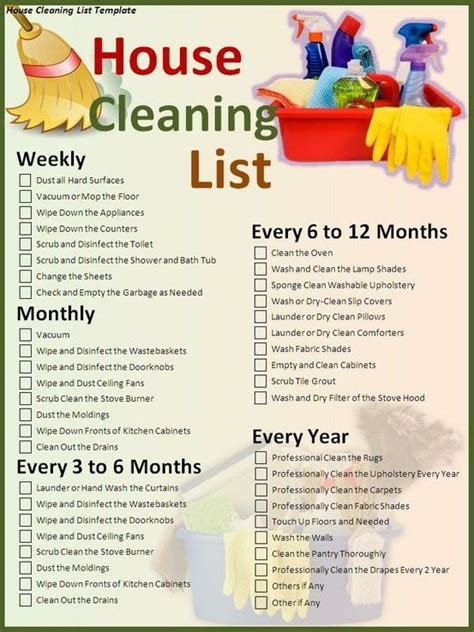 Apartment Cleaning All Clean Softwash 17 Best Ideas About House Cleaning Schedules On