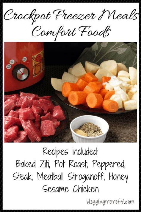 crockpot comfort food crockpot freezer meals comfort foods comfort foods