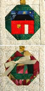 free pattern friday paper pieced ornaments