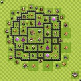layout coc mode farming th 8 war base aegis war mod coc base designs pinterest
