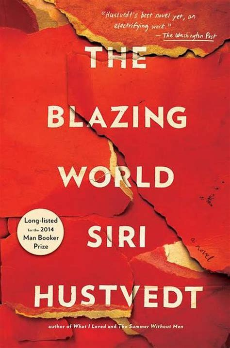 the blazing world books siri hustvedt author of the blazing world
