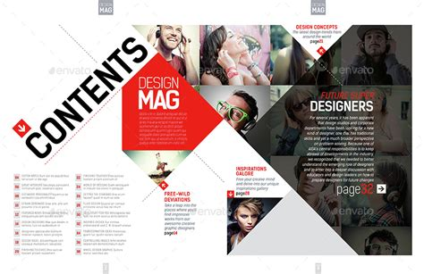 Magazine Template Indesign 40 Page Layout V7 By Boxedcreative Graphicriver Indesign Page Layout Templates