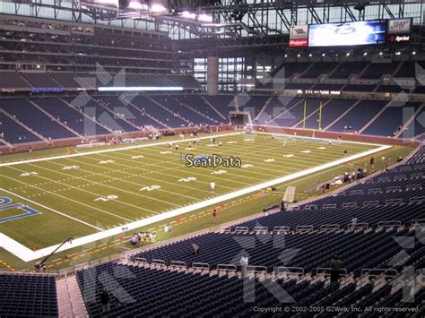 ford field sections ford field section 200 seat view club level