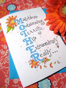 mothers day card mothers day floral gerbera daisies card