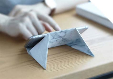 Origami Stand - fodi origami stand supports smartphones tablets and