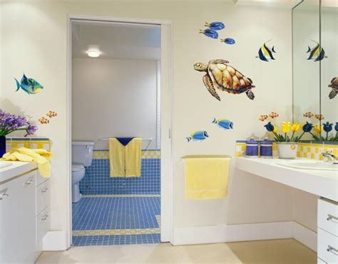 school bathroom decorating ideas salle de bain enfant 15 id 233 es pratiques pour sublimer le