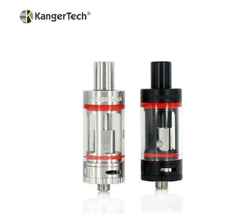 Atomizer Kangertech Subtank Mini V2 Sub Ohm Clearomizer single kangertech subtank mini v2 atomizer black white ss