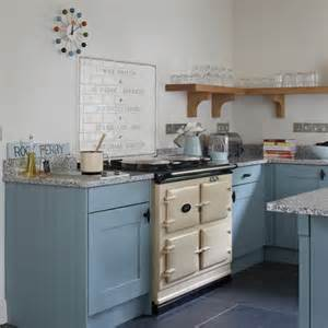 Aga Kitchen Designs Blue And Cream Aga Kitchen Housetohome Co Uk