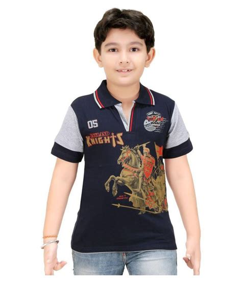 T Shirt Polo Boys 8 colour boys printed polo t shirts available at snapdeal for rs 449