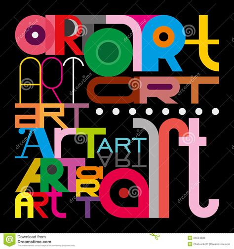 art font design online royalty free stock photos art text design image 34594838