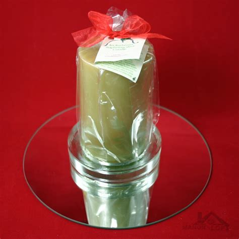 Bayberry Candles Poured Authentic Bayberry Wax Pillar Candles In