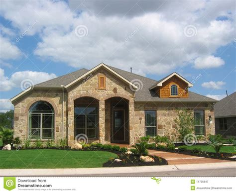 stone for house siding stone house wood siding royalty free stock photography image 14795847