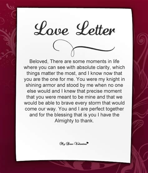 valentines day letters sle ideas 4th