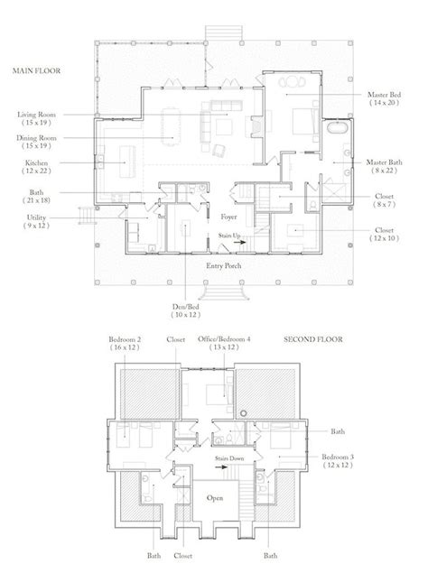 Palmetto Bluff Wharton Really Like This Floor Plan Palmetto Bluff House Plans