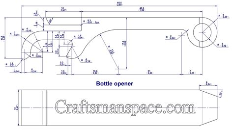 omax layout free download bottle opener plans