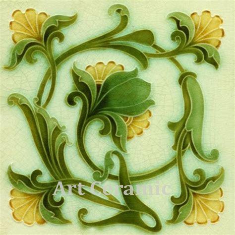 ebay decorative tile art nouveau reproduction decorative ceramic tile 034 ebay