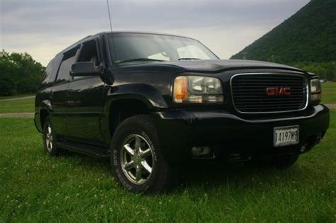 how does cars work 2000 gmc yukon denali auto manual sell used 2000 gmc yukon denali 4x4 with 168k original miles in cumberland maryland united states