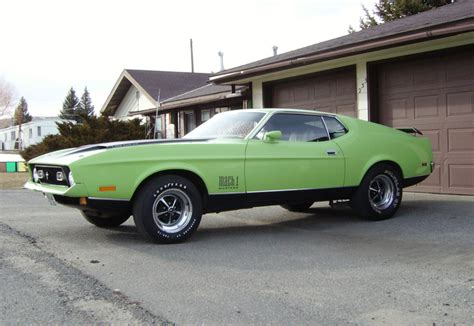 71 mustang fastback for sale 1971 ford mustang mach 1 fastback 44796
