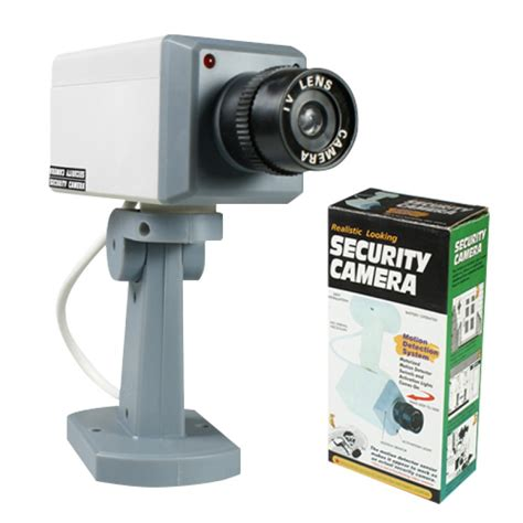 2 x dummy security surveillance motion sensor