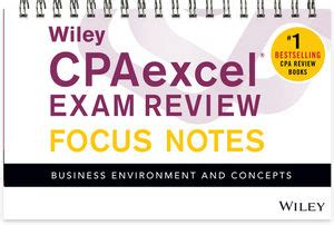 wiley cpaexcel review 2018 focus notes financial accounting and reporting books 4科目セット 2017uscpaベーシックスタディパック 資格スクエア