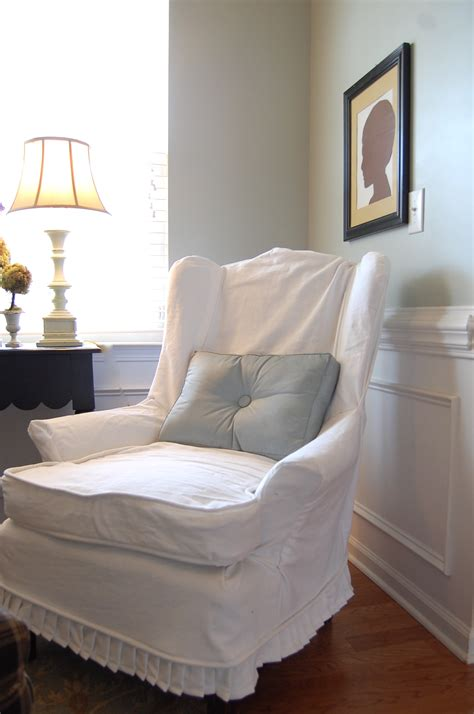 Fabric Chairs Design Ideas Furniture Rustic Fabric Slipcover Design For Chairs With Swoop Arms Gorgeous Slipcover Designs