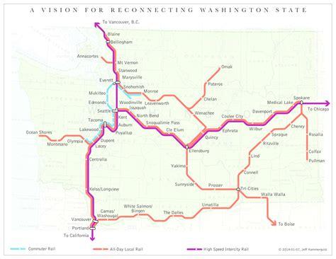 friends of transit washington passenger rail map transit 509