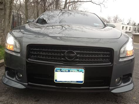 custom nissan maxima 2010 custom maxima grille all blacked out maxima forums