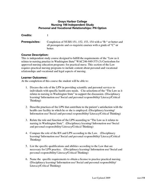 new graduate licensed practical resume template