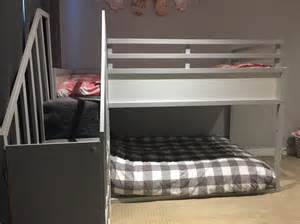 kura bett umbauen kura bunk bed hack for two toddlers ikea hackers ikea