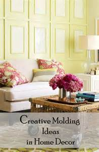 Creative Home Decoration by Creative Molding Ideas In Home Decor