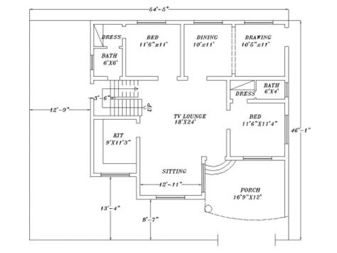 autocad home design 2d inspiring how to make house plans on autocad arts house