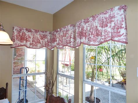 toile kitchen curtains beaucoup joie de vivre red toile curtains for sale