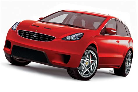 suv ferrari ferrari suv rendered pictures carzi