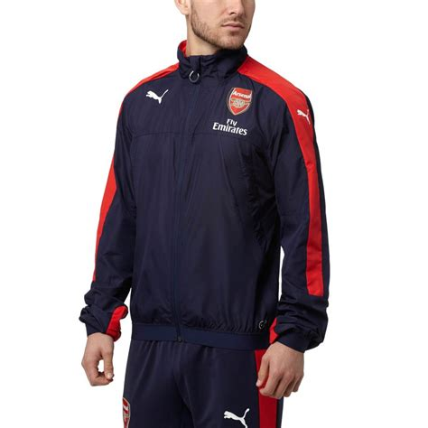 arsenal jacket puma arsenal stadium vent jacket ebay